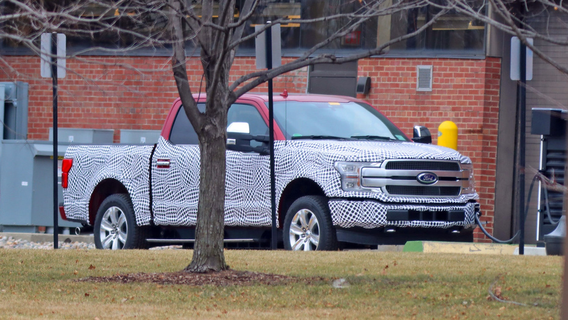 Electric Ford F 150 Possibly Caught On Camera