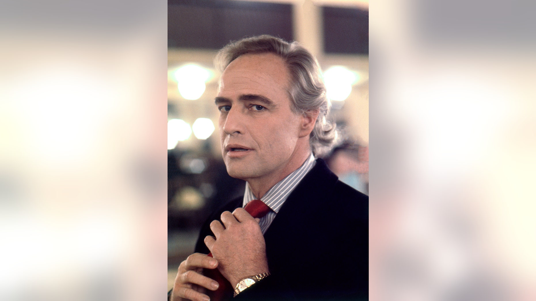 "Marlon Brando on the set of Bernardo Bertolucci's controversial masterpiece ""The Last Tango In Paris."" — Eva Sereny"