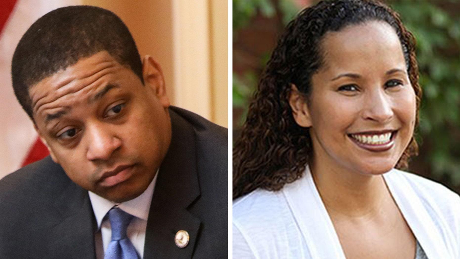 Virginia Lt. Gov. Justin Fairfax and Vanessa Tyson