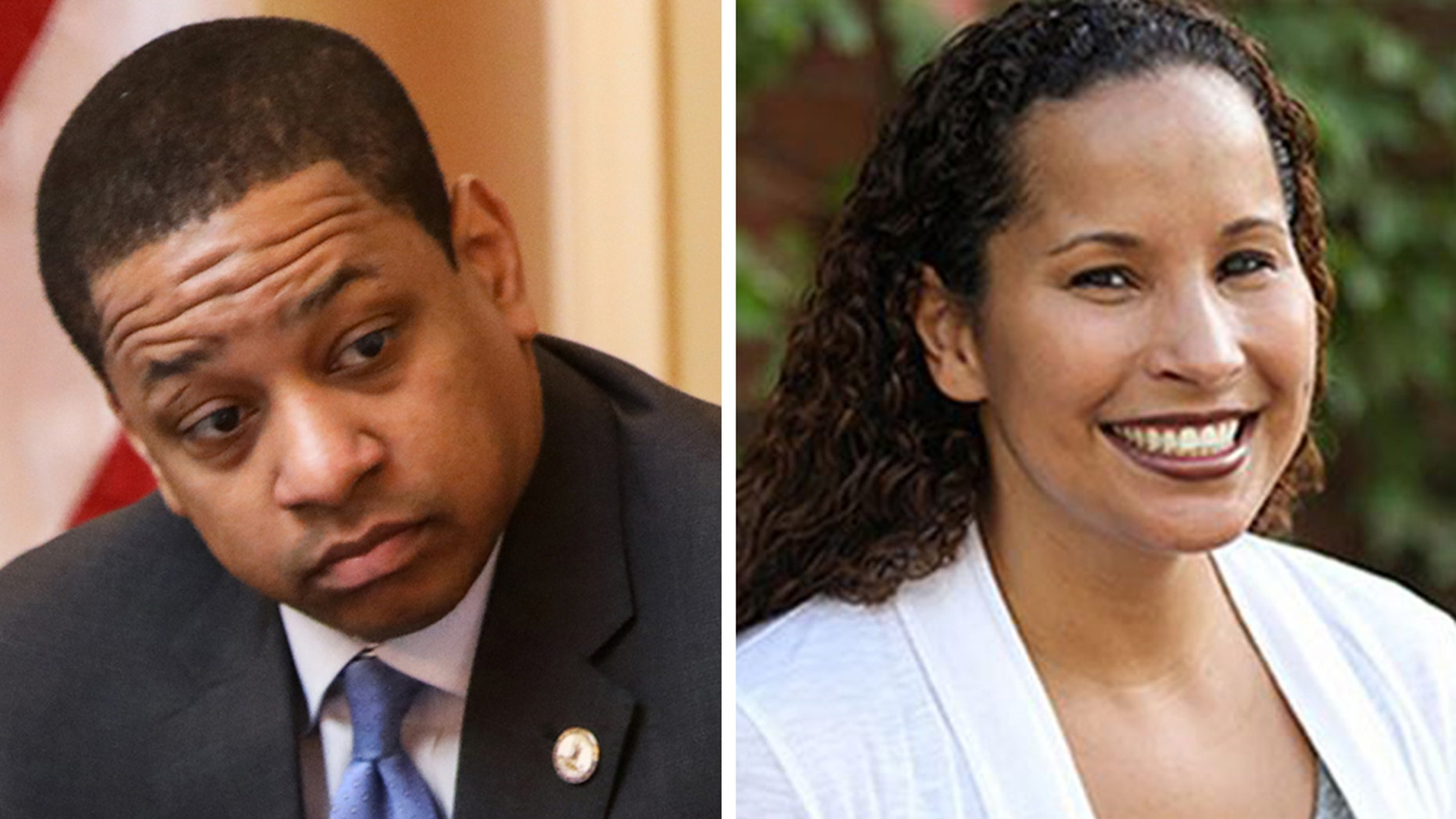 Virginia Lt. Gov. Justin Fairfax and Vanessa Tyson