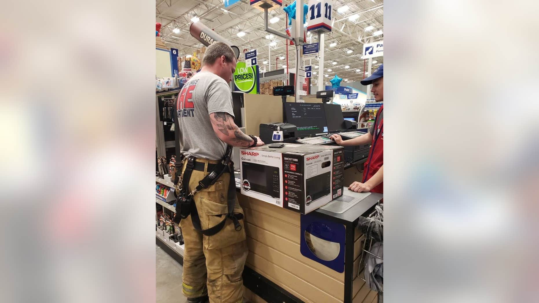 """A Florida fire department took to Facebook on Thursday to highlight an act of kindness carried out by some of their firefighters for a """"member of 'The Greatest Generation.'"""""""