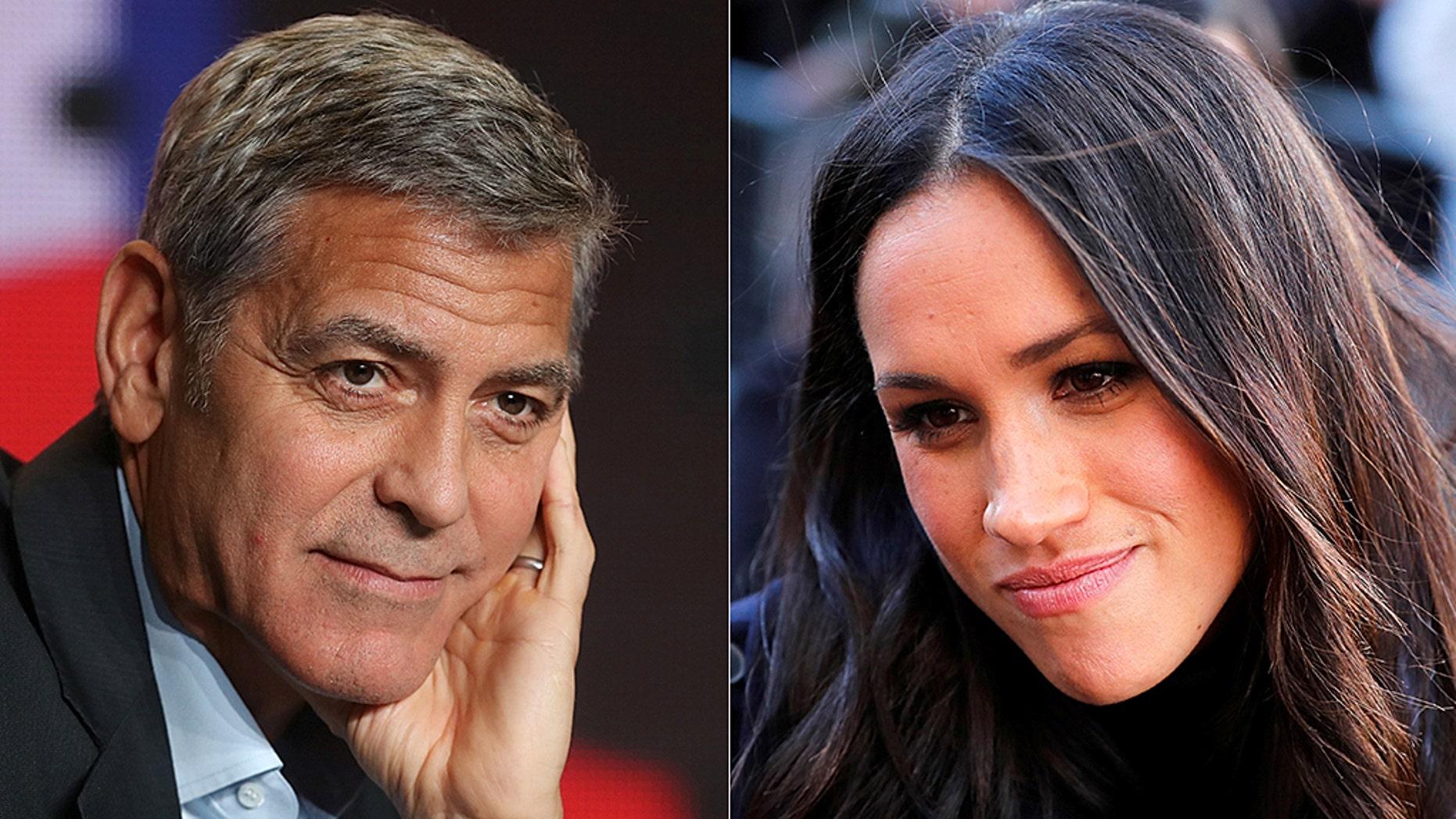 George Clooney is defending Meghan Markle.