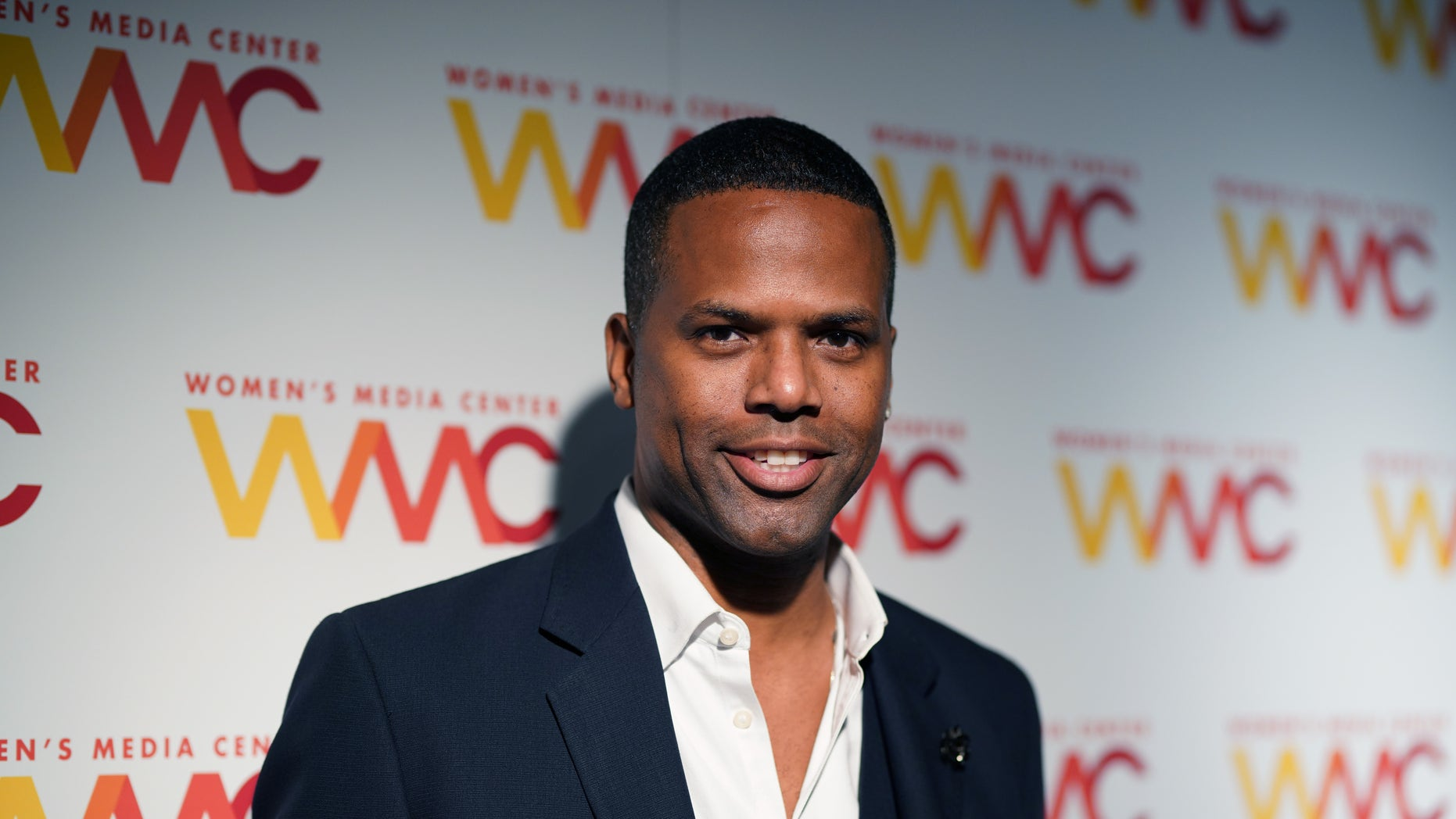 A.J. Calloway attends the 2018 Women's Media Awards in New York on Nov. 1. (Photo by Jemal Countess/Getty Images for Women's Media Center)