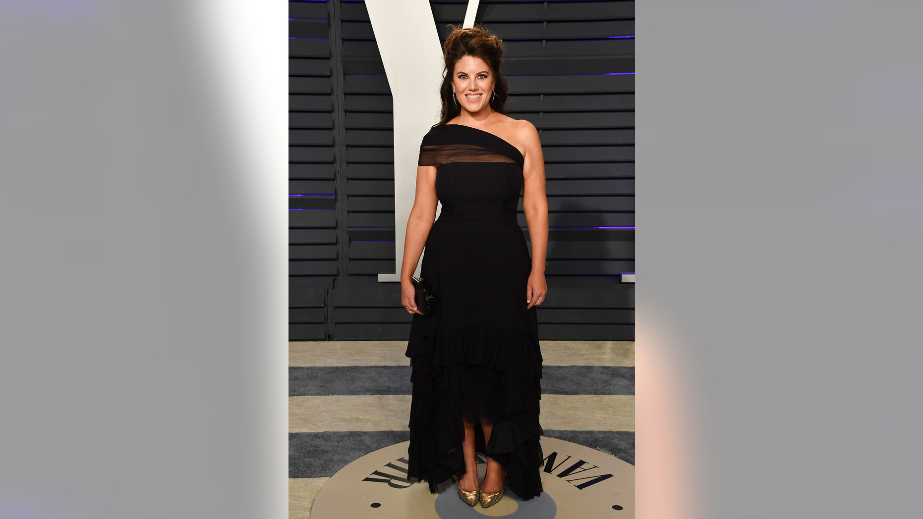 BEVERLY HILLS, CALIFORNIA - FEBRUARY 24: Monica Lewinsky attends the 2019 Vanity Fair Oscar Party hosted by Radhika Jones at Wallis Annenberg Center for the Performing Arts on February 24, 2019 in Beverly Hills, California.