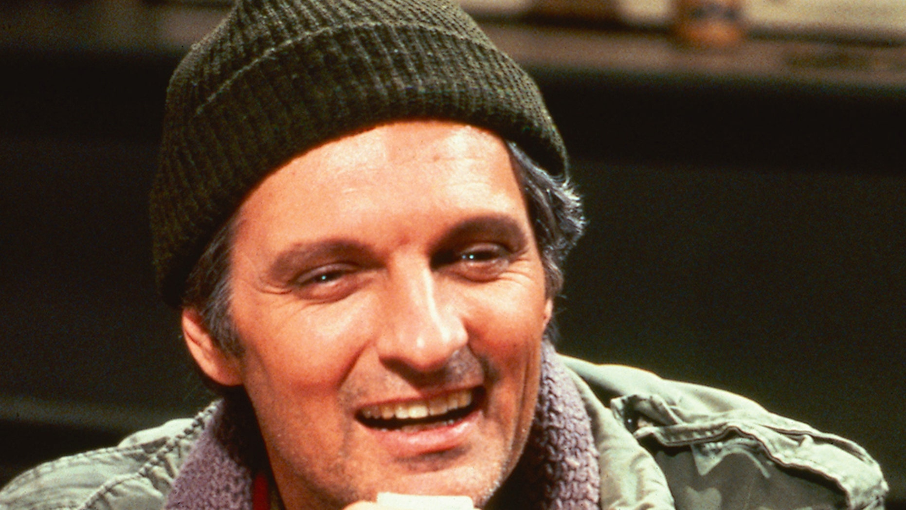 """Alan Alda in a promotional portrait for the television series """"M*A*S*H,"""" where he played Captain Benjamin Franklin 'Hawkeye' Pierce, circa 1972. — Getty"""