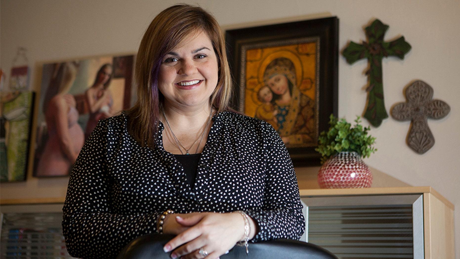 Pro-life activist Abby Johnson.