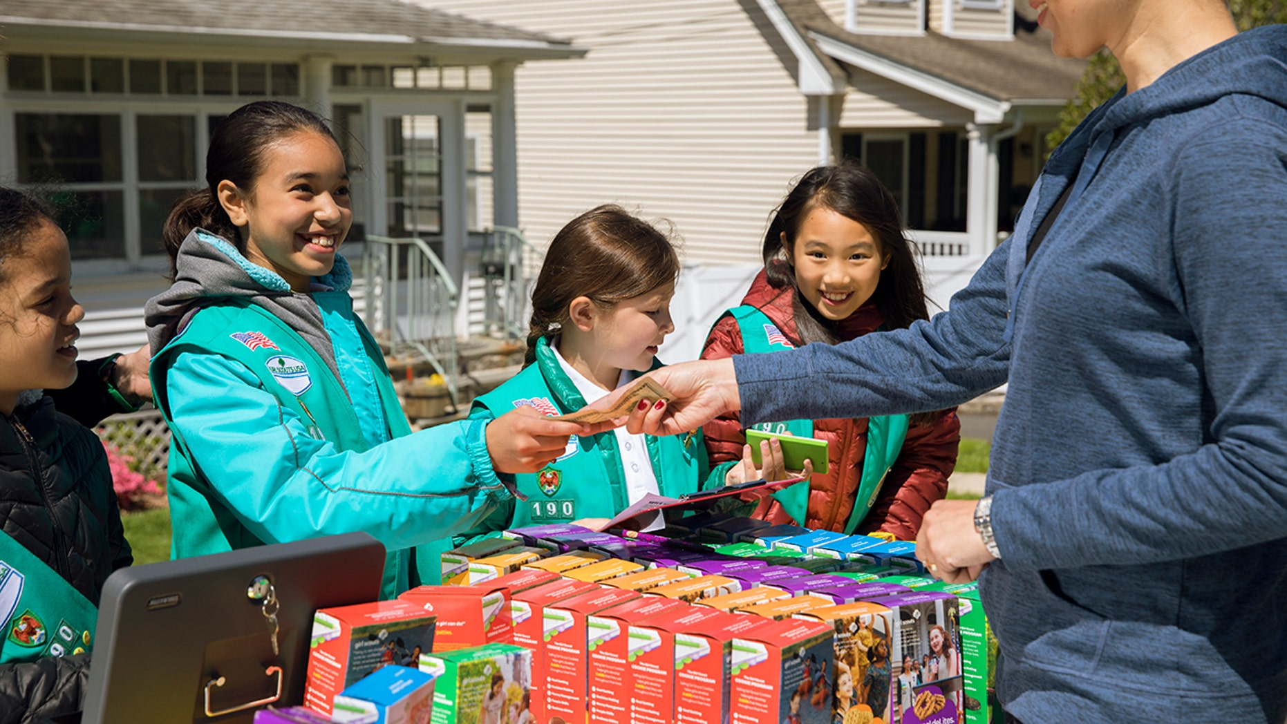 The Girl Scouts of America employ two different companies to make their famous cookies — but the differences aren't in name, only.