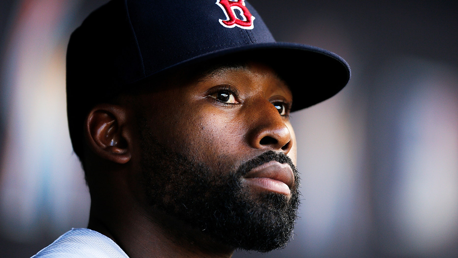 Jackie Bradley Jr. of the Boston Red Sox said Wednesday that he won't be attending the White House ceremony celebrating the team's 2018 World Series championship, a report said. (Michael Reaves/Getty)