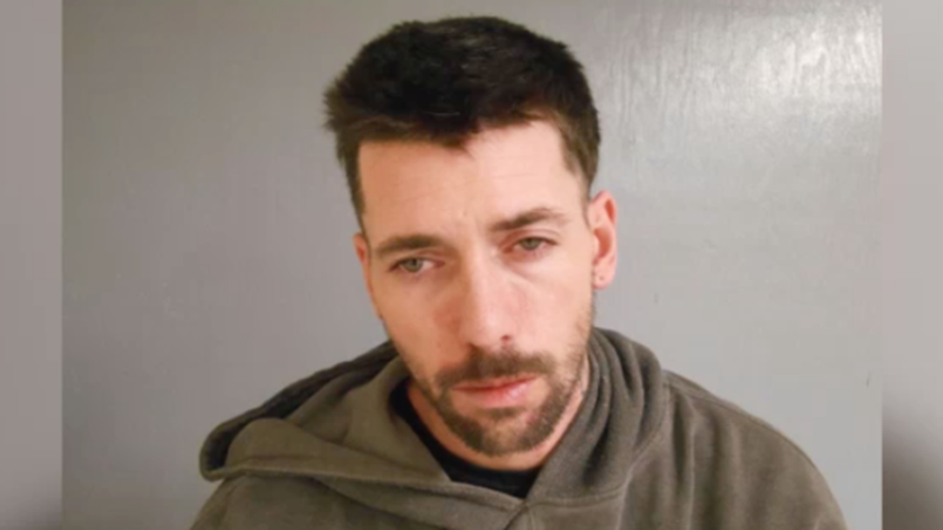 Jason Mackenrodt, 38, is accused of robbing a bank in Maine. He was caught after he slipped on ice in front of a cop while trying to flee.