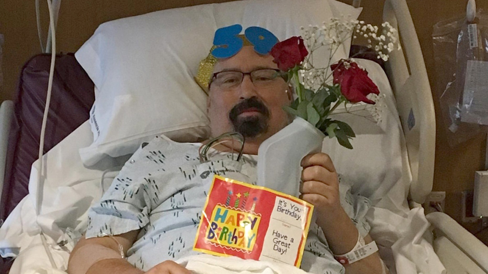 Mendoza was being treated for hypothermia after spending two days in his car inthe middle of a harsh winter storm when doctors made another discovery.