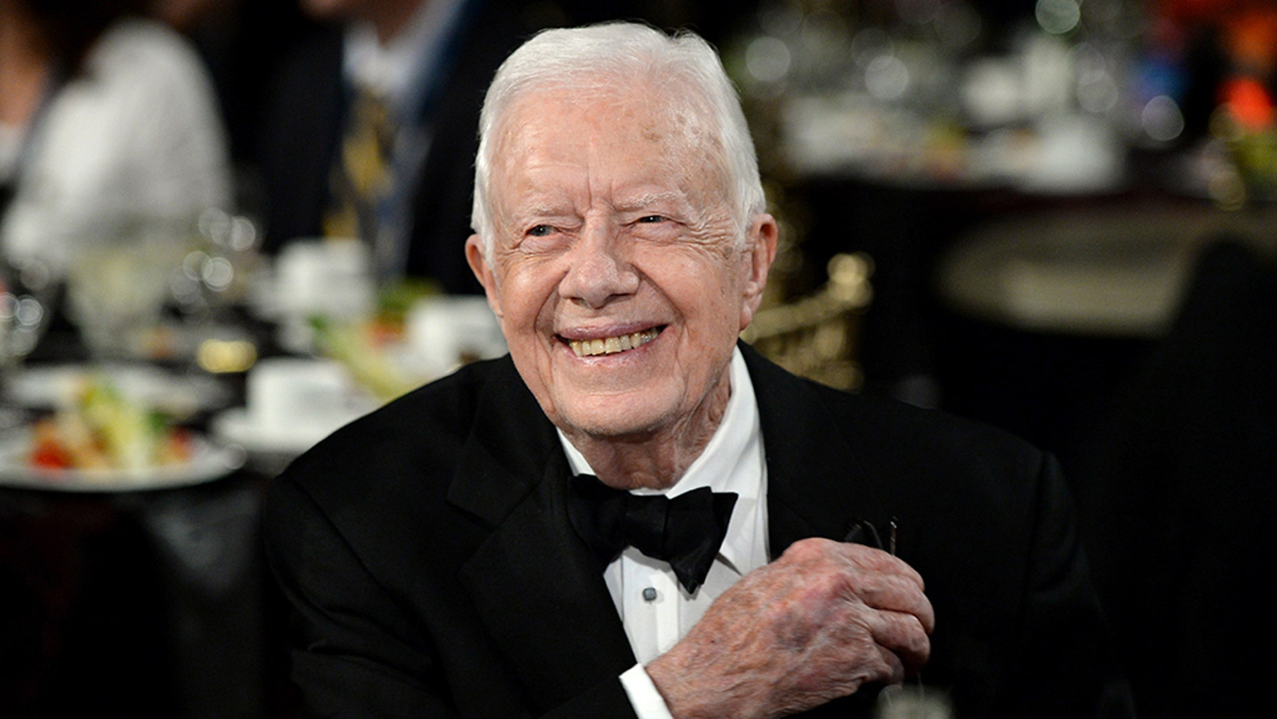 Jimmy Carter, who served as the 39th president of the U.S., won his third Grammy award on Sunday night.