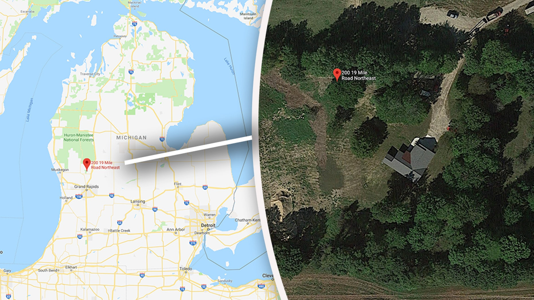 Four people were killed in an apparent shooting in Kent County, Michigan on Monday.