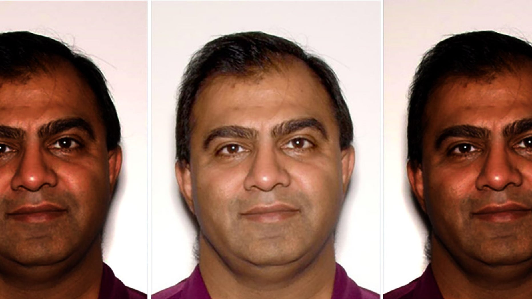 Gwinnett County Police charged 48-year-old Ketan Shah with one count of felony theft by conversion. Shah is a prominent Atlanta-area businessman arrested for exploiting Super Bowl fans —including his mother. (Gwinnett County Police)