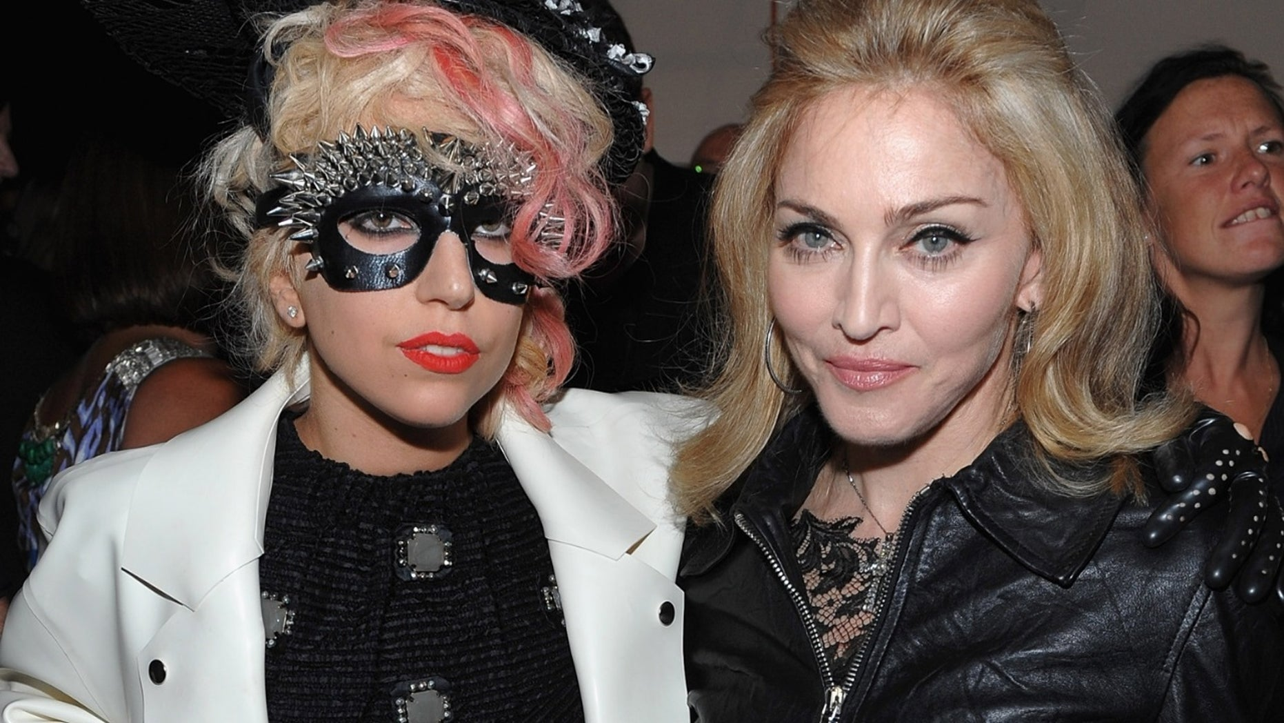 Pop stars Lady Gaga and Madonna appeared to end their longtime feud with a sweet photo.