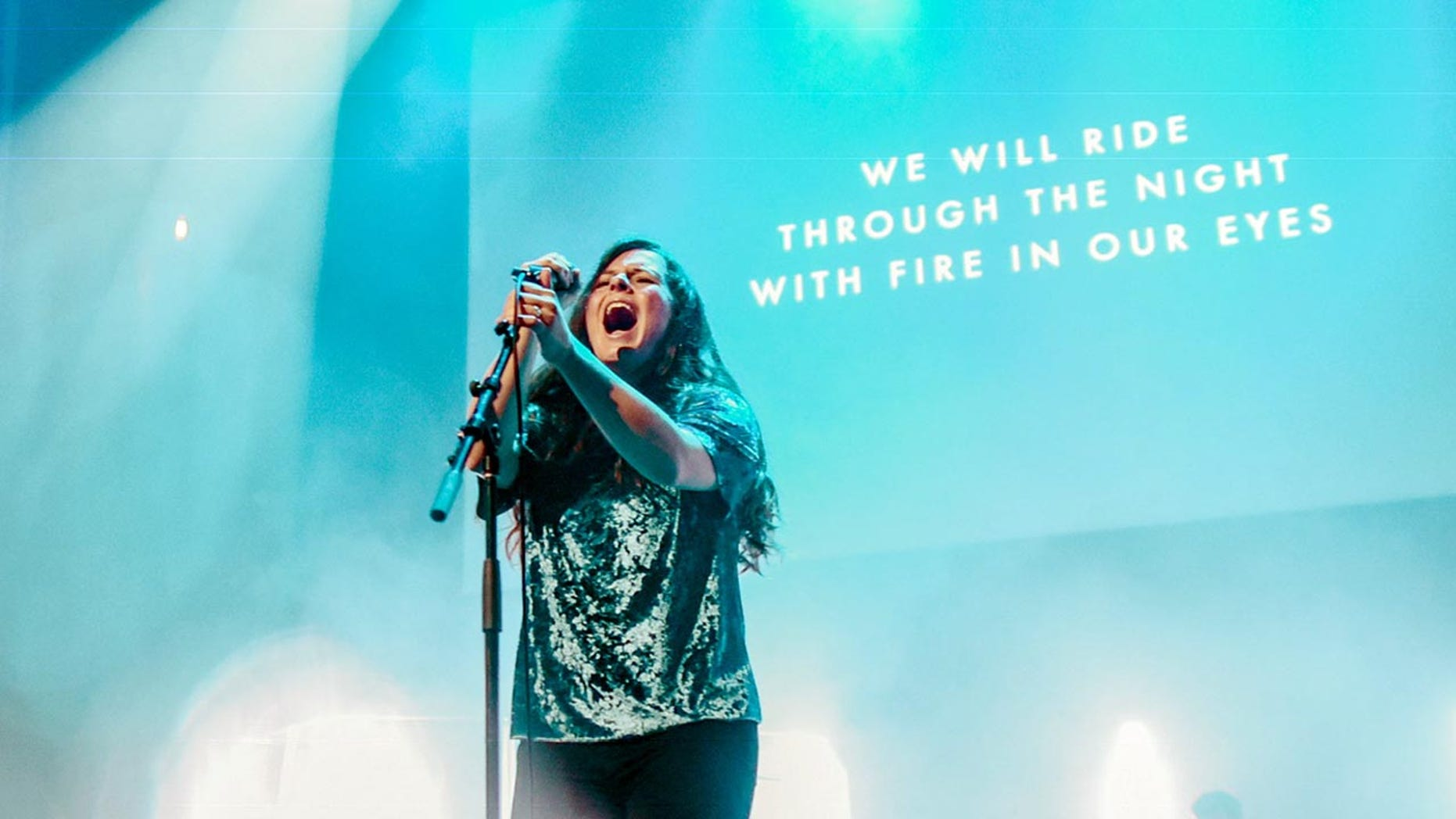 """Worship leader, Lindy Conant-Cofer, 30, has a new album """"Driven By Love,"""" set to release Feb. 22."""