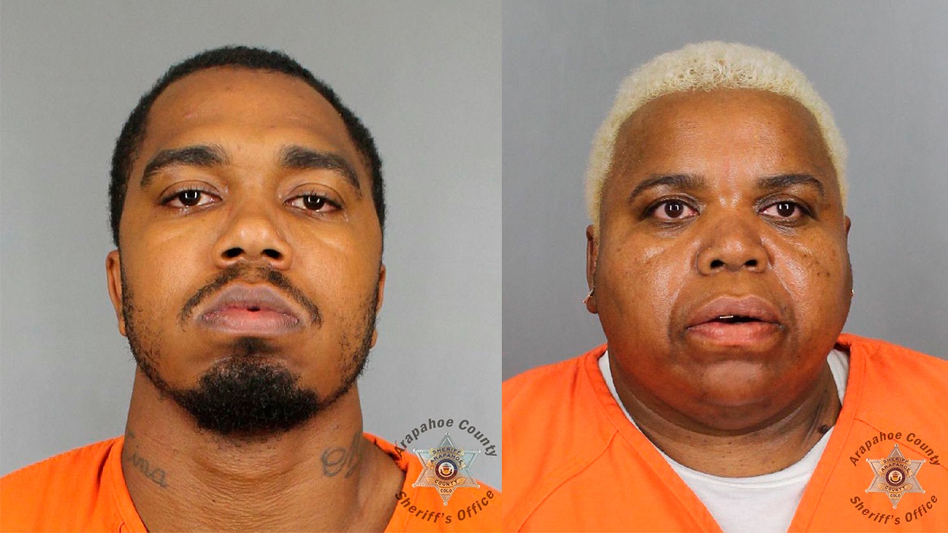Terance Black and Tina Black were both sentenced to life in prison, authorities say, (Arapahoe County Sheriff's Office via AP)