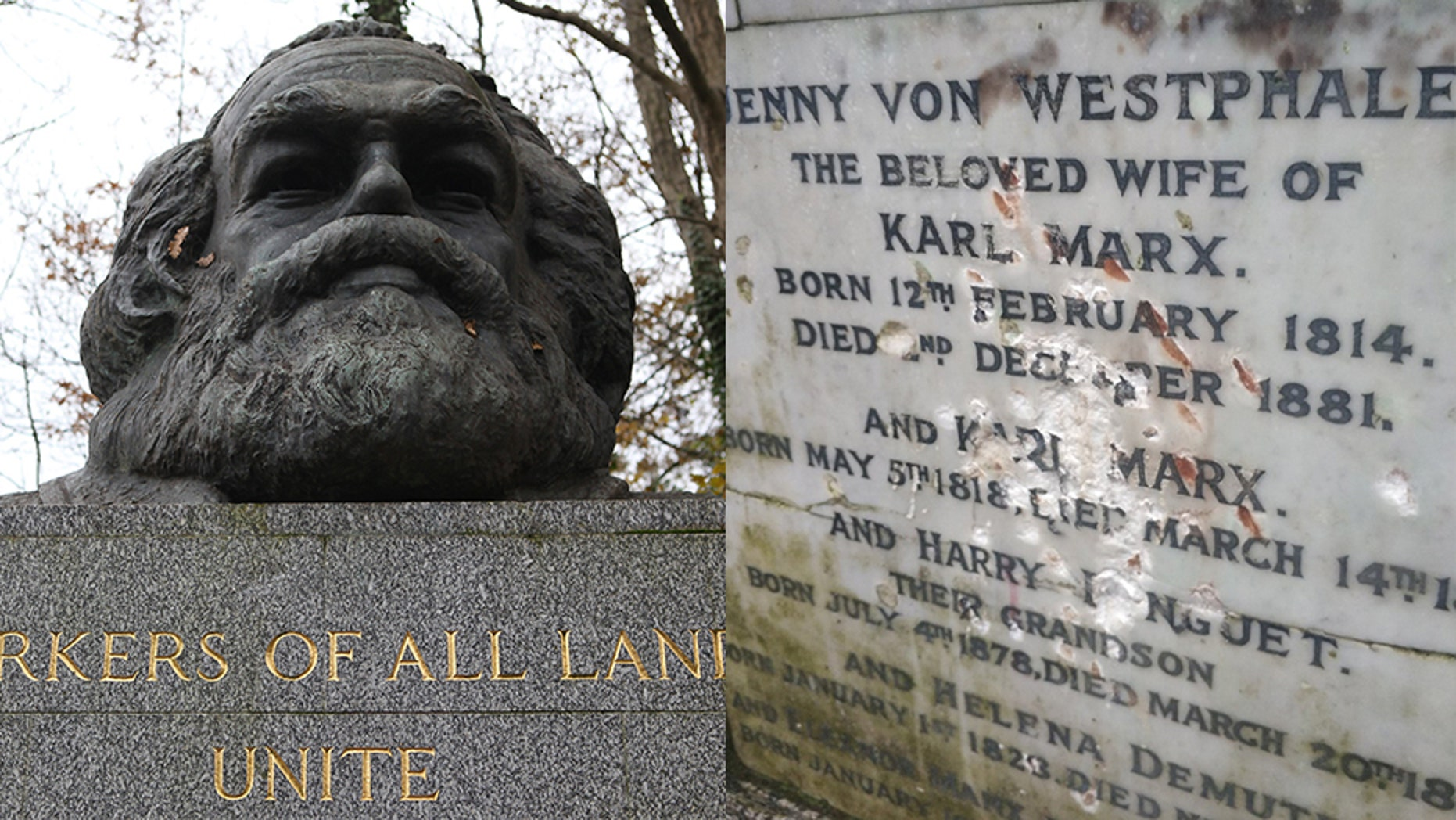 Karl Marx's Gravestone 'Will Never Be the Same'