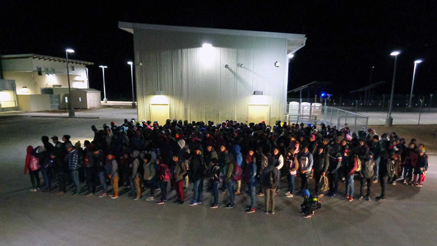 The 330 migrants apprehended at Antelope Wells, N.M.