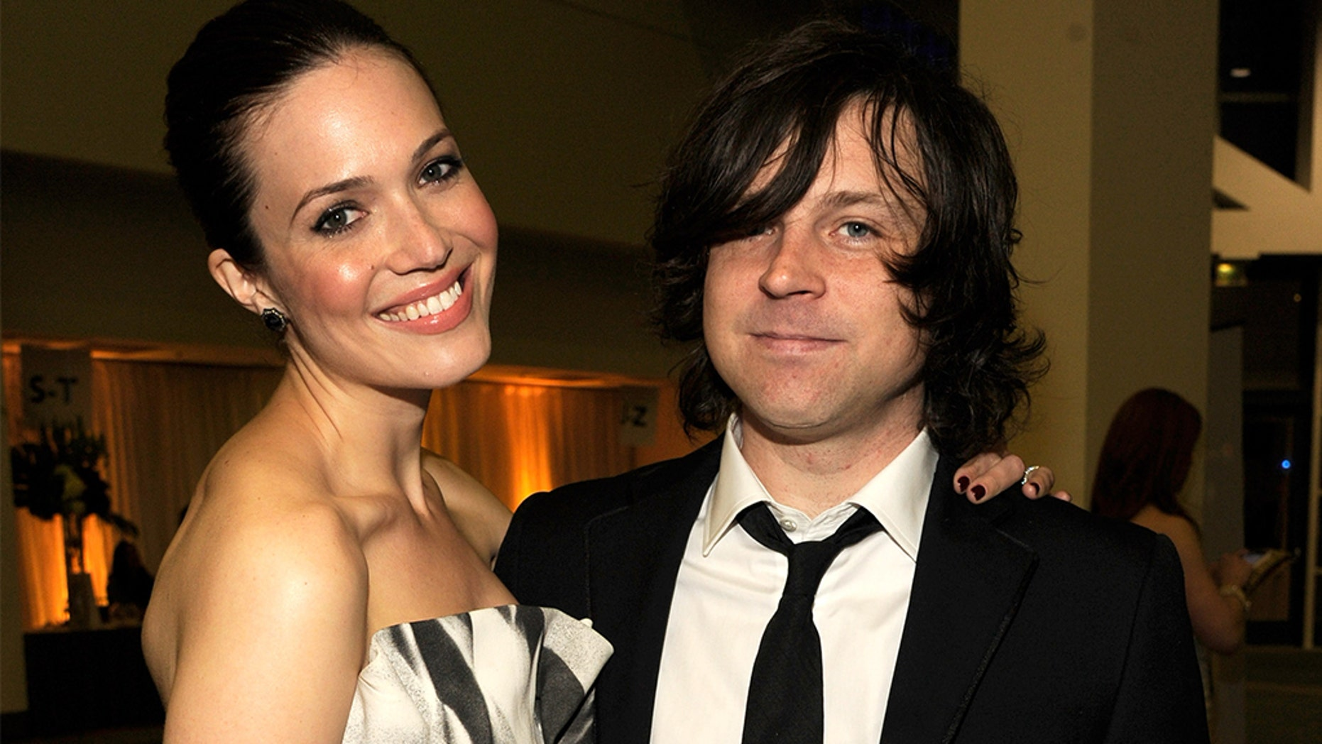 Mandy Moore discussed her past relationship with now-disgraced rocker Ryan Adams.