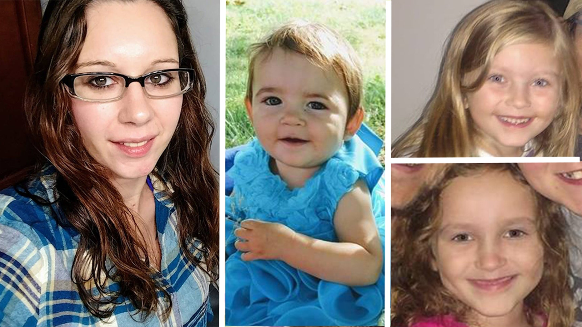 The bodies of Aubrianne Moore, 28 and her daughters Alaina Rau, 2; Cassidy Rodery, 6; and Kyrie Rodery, 8, were found Monday at a property near Cedar Springs, a community about 30 miles north of Grand Rapids.