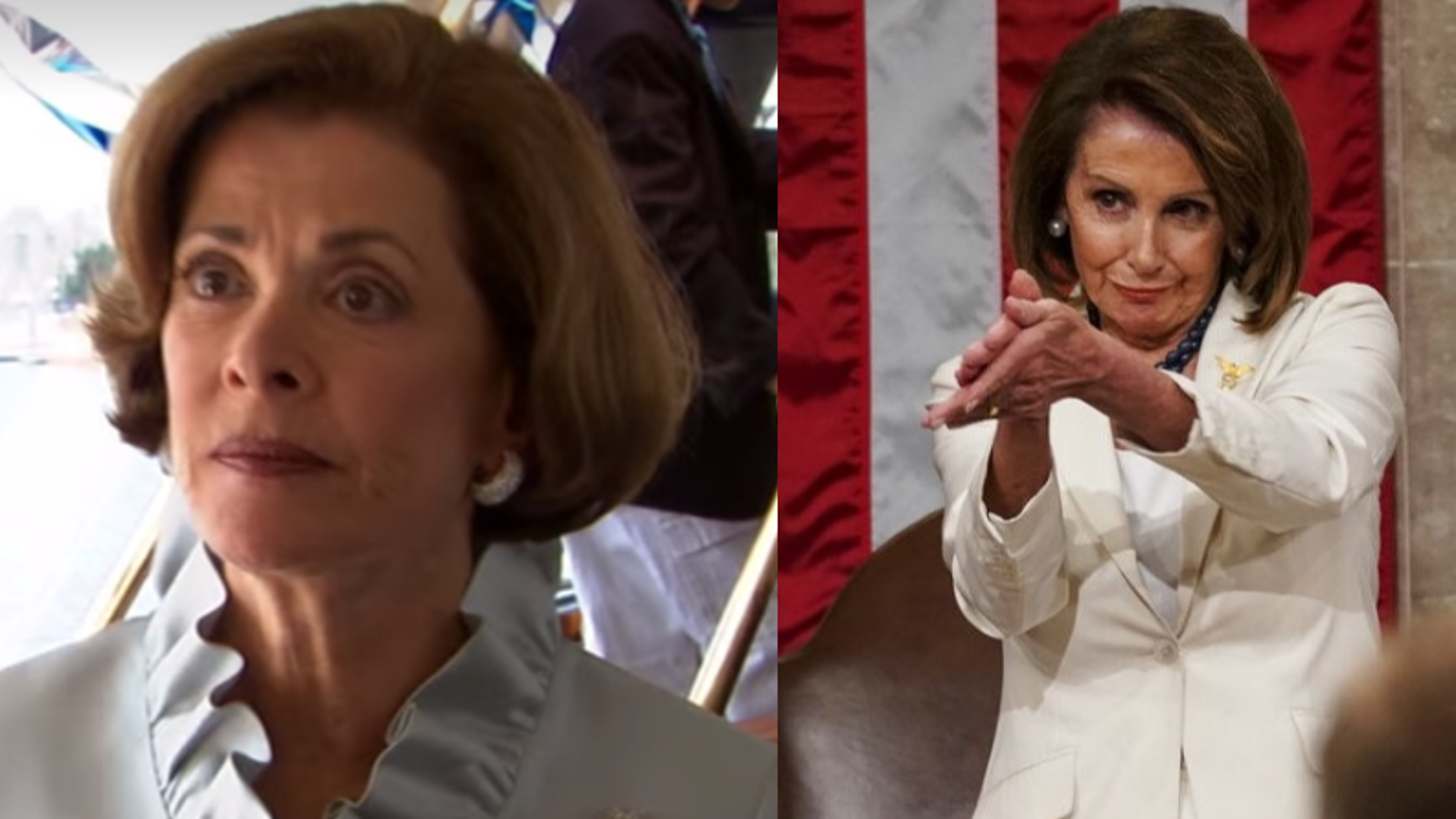 "Washington Post columnist Monica Hesse described House Speaker Nancy Pelosi's clap during President Trump's State of the Union speech as ""Lucille Bluth-like in its contemptuousness."""
