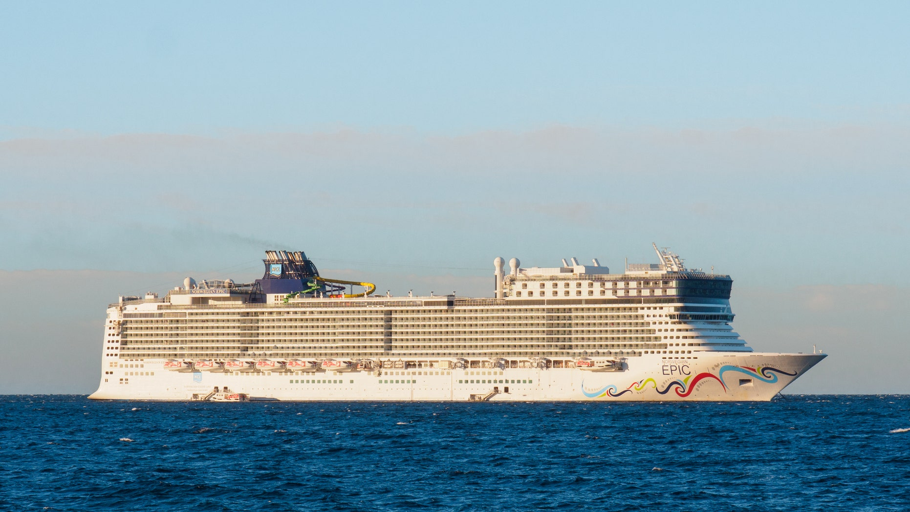"Norwegian Cruise Line says ""prevailing winds"" caused the collision."