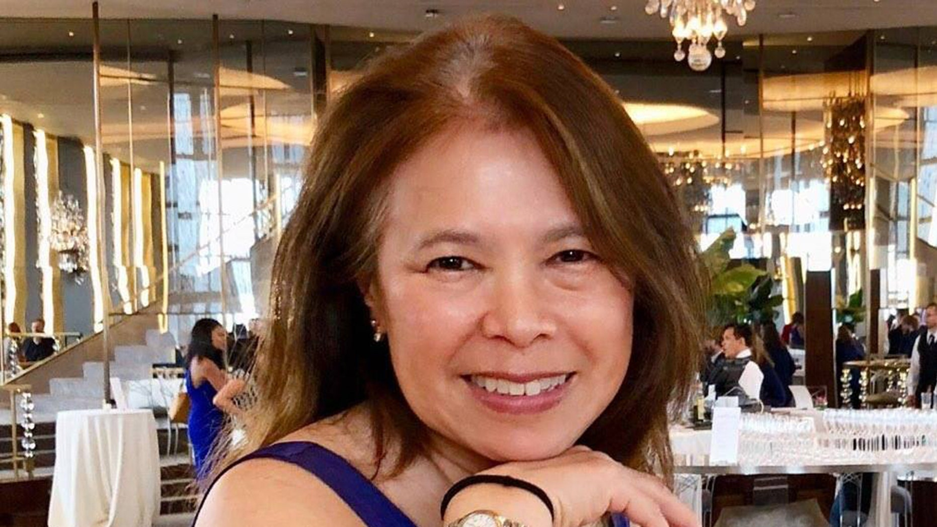 Paula Chin, who was reported missing on Monday, has been found dead in a garbage can at her New Jersey home. Her son is accused of killing her.