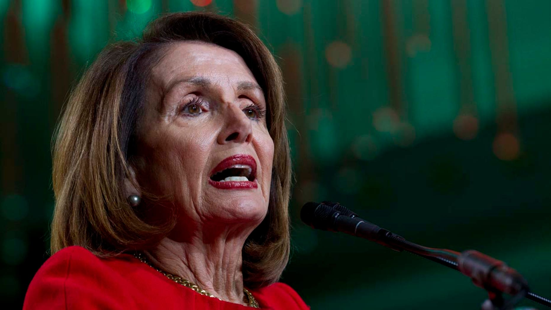 House Speaker Nancy Pelosi, D-Calif., has been called out for repeatedly quoting a passage of Scripture that doesn't actually exist. (AP Photo/Jose Luis Magana)