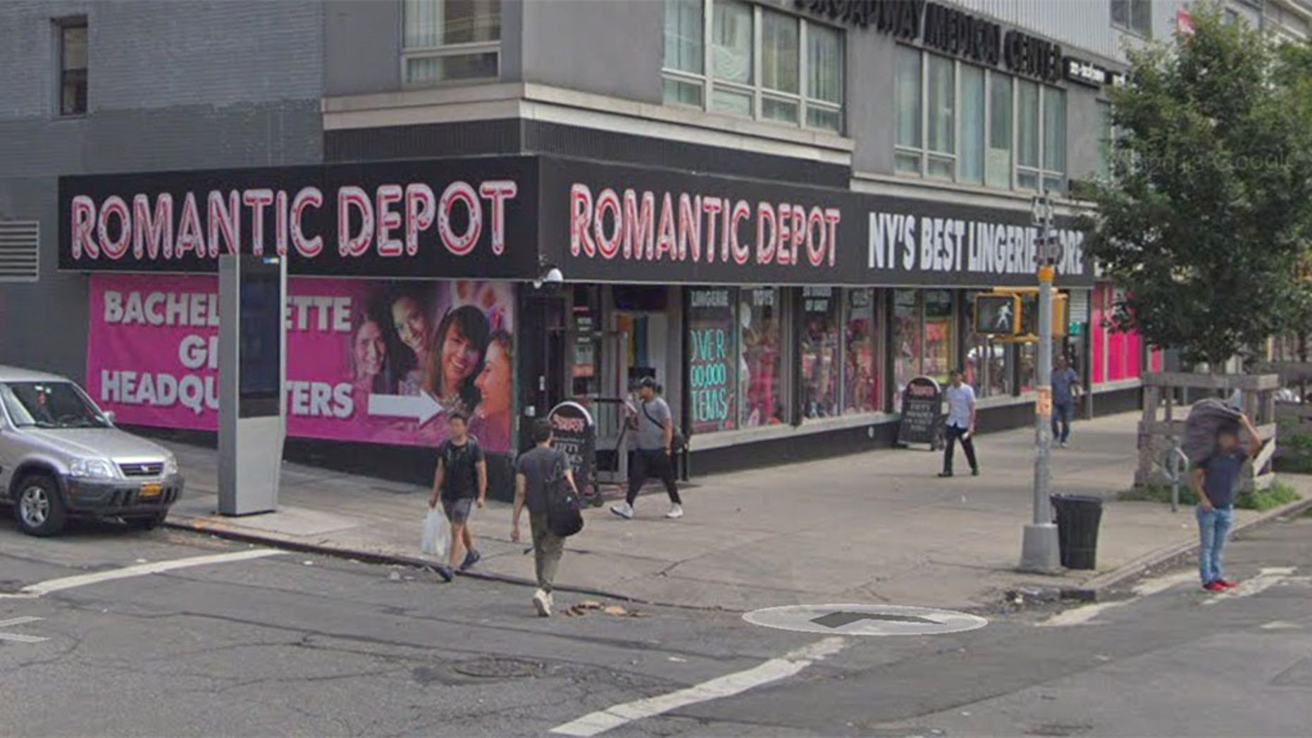 The owner of Harlem's Romantic Depot said a man who hated former President Barack Obama attacked a mannequin of him in his storefront window.