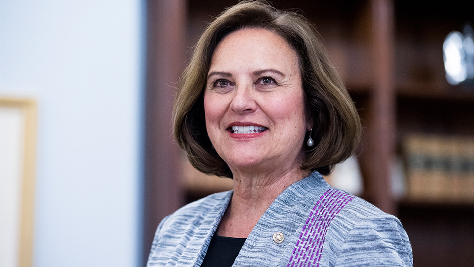 Sen. Deb Fischer, R-Neb., is set to read George Washington's Farewell Address aloud on the floor when the Senate returns to session next Monday afternoon. (Bill Clark/CQ Roll Call)