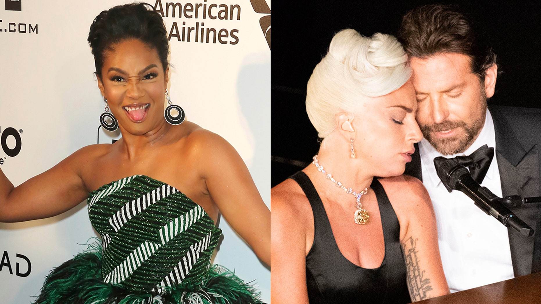Tiffany Haddish commented on the unusually steamy performance between Lady Gaga and Bradley Cooper at the 91st Academy Awards.