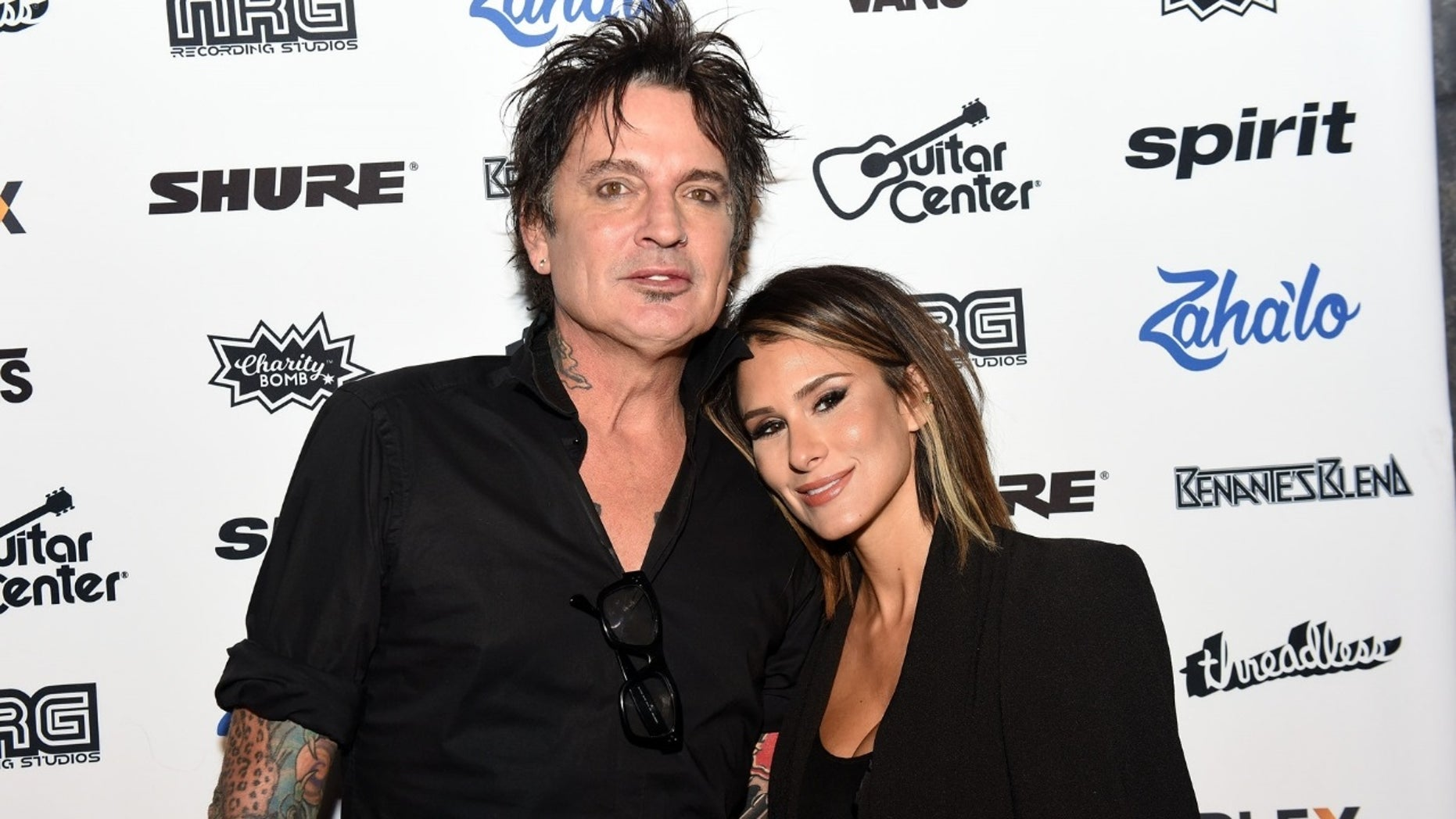 Mötley Crüe drummer Tommy Lee and internet personality Brittany Furlan tied the knot on Valentine's Day, a year after they announced their engagement.