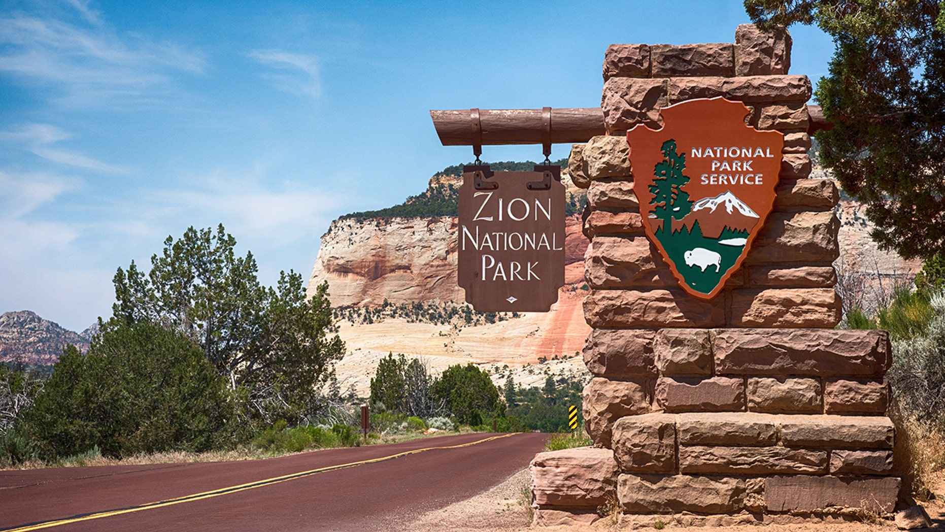 The man was stuck in quicksand at Zion National Park for hours.