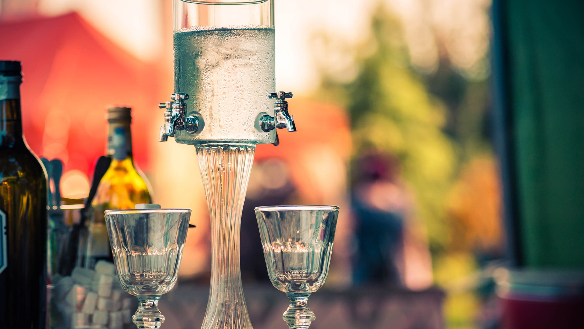 """Historically, absinthe, also known as the """"Green Fairy,"""" was said to cause hallucinations."""