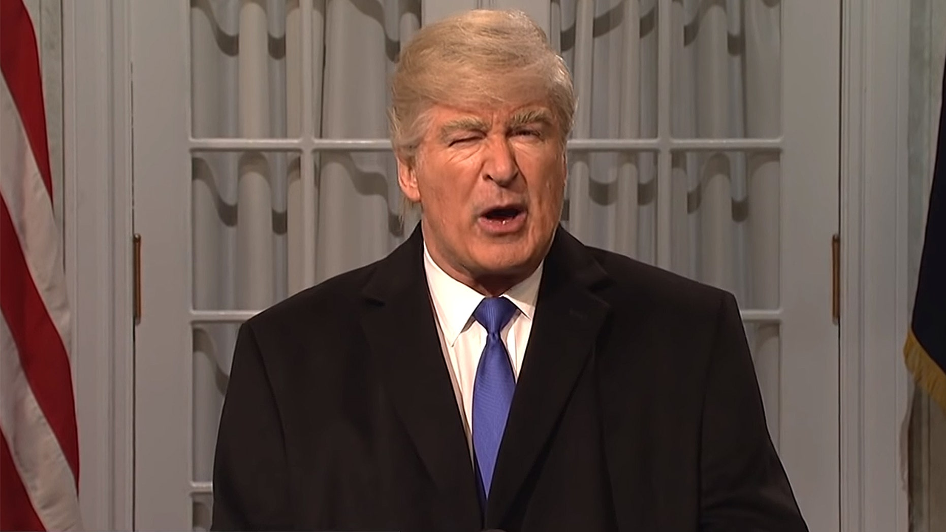 "Alec Baldwin as Donald Trump on ""Saturday Night Live"""