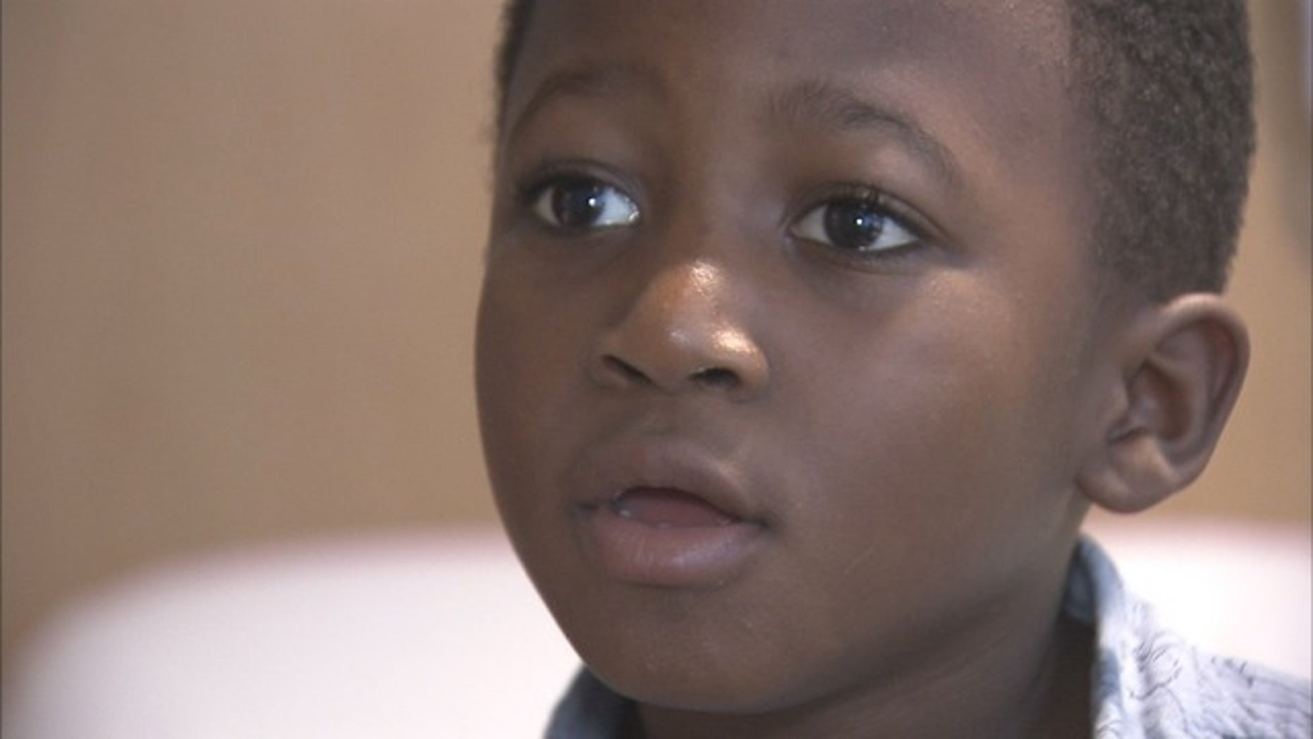 Ayden Palmer, 6, beat brain cancer in December and now faces hours-long transfusion procedures as he waits for a match.