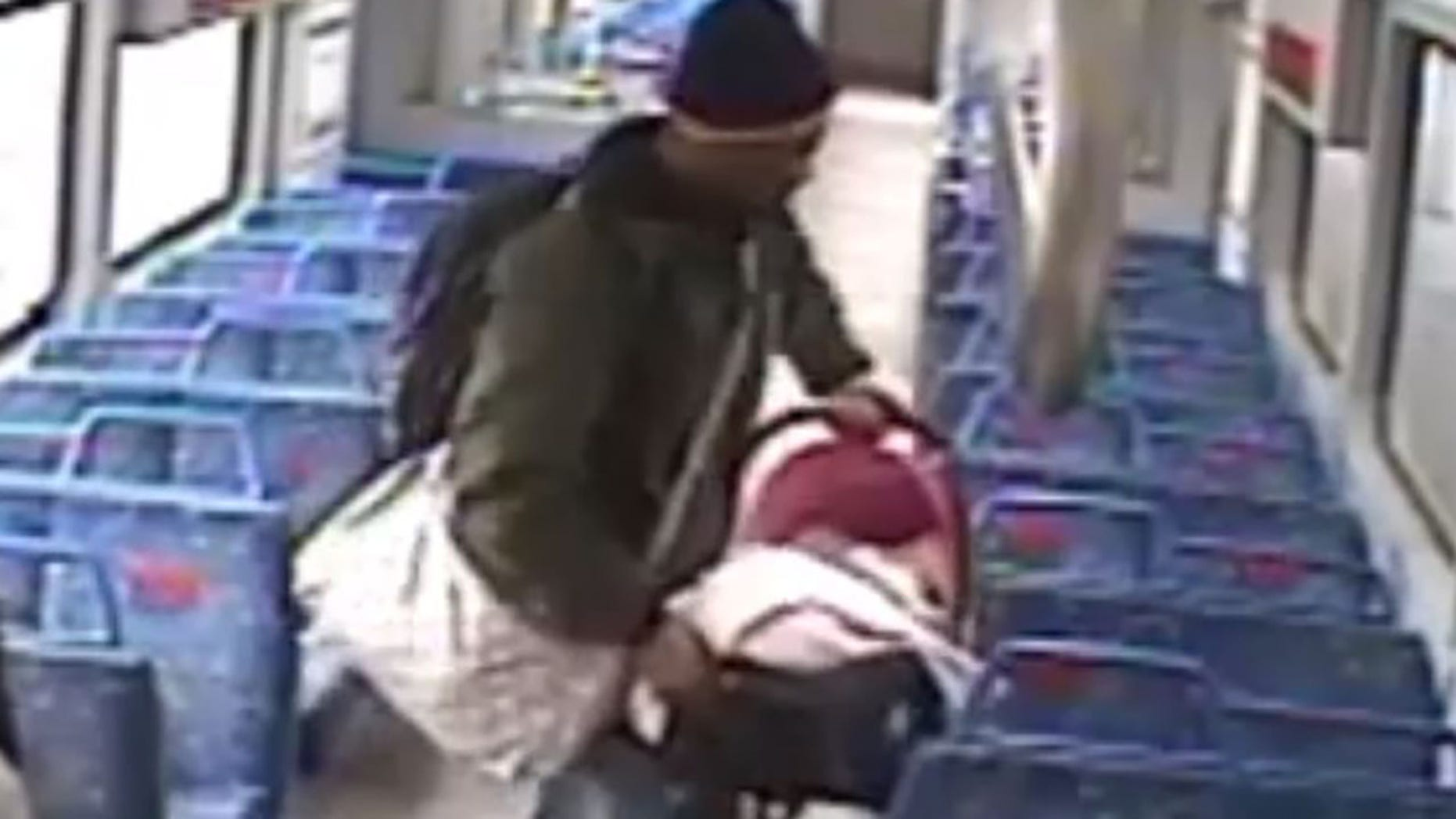 Man leaves baby on train to take smoke break