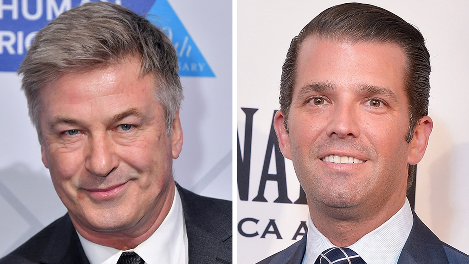 Alec Baldwin and Donald Trump Jr., engaged in a Twitter sparring match on Tuesday.