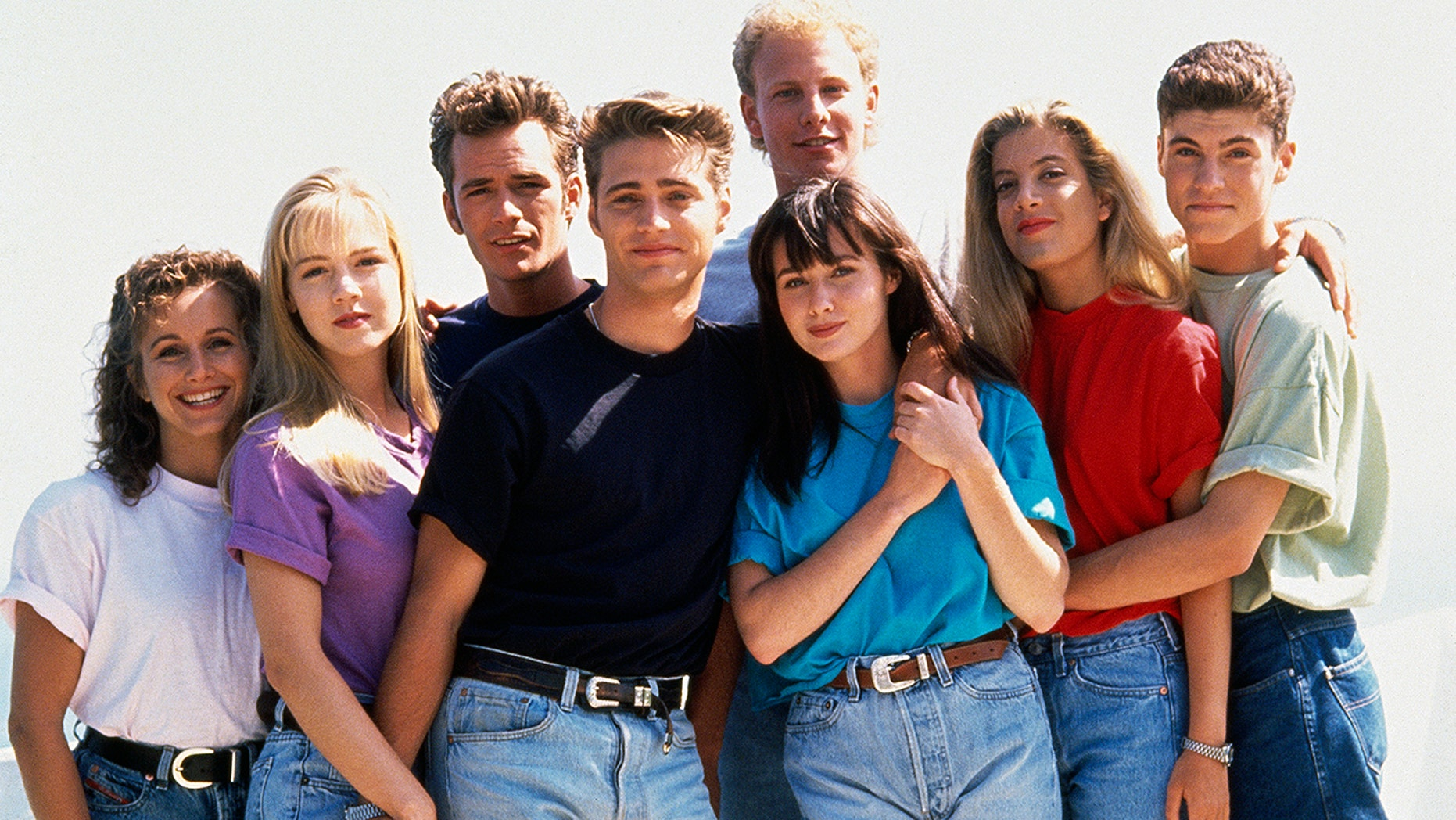 "Cast of ""Beverly Hills, 90210"""