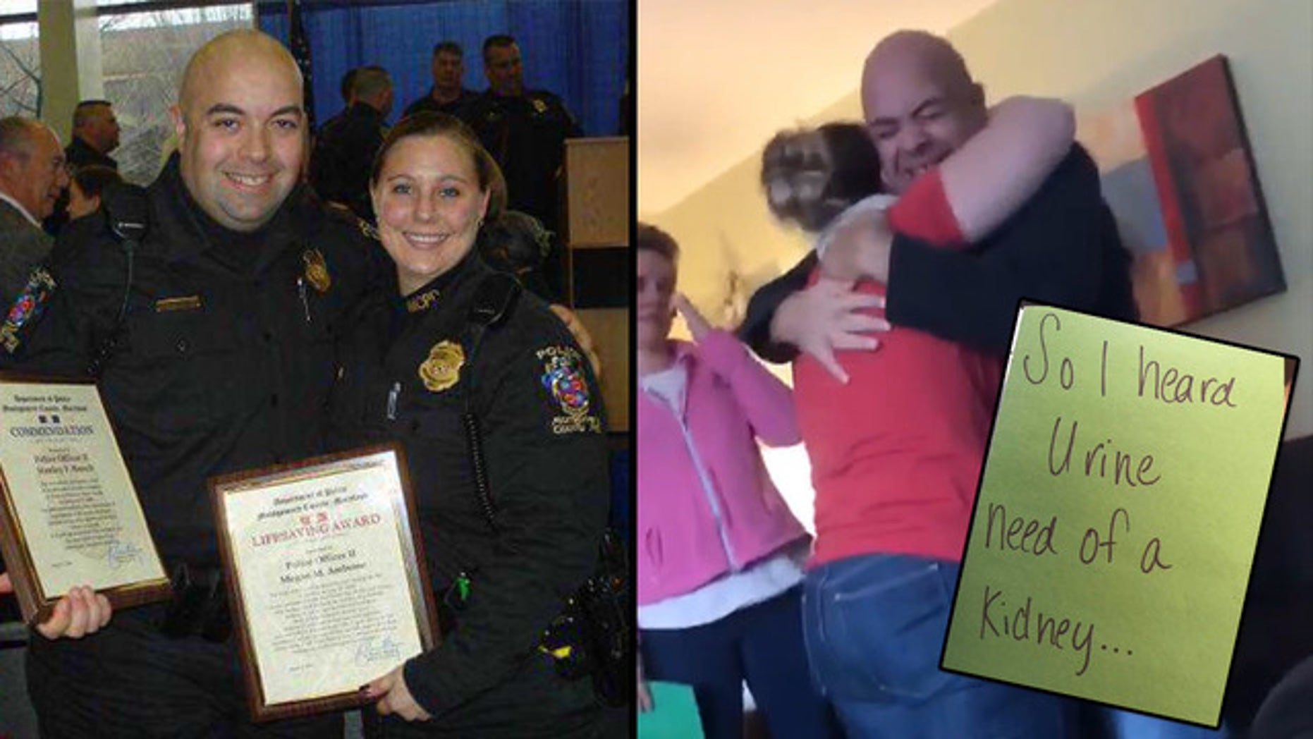 Megan Ambrose and Stan Barsch are retired Montgomery County police officers and former beat partners.