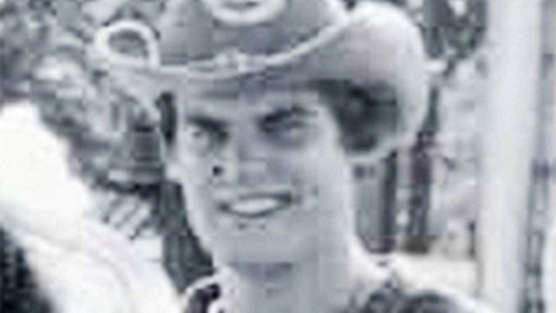 In this 1980 Auburn University yearbook photo, released by the office of Tennessee Gov. Bill Lee, Lee is pictured in a Confederate states costume while attending the university.