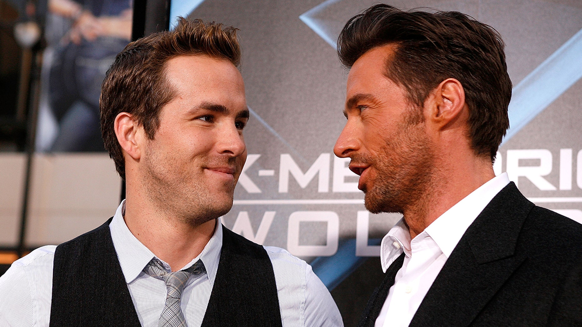 Ryan Reynolds and Hugh Jackman call a truce to their fake feud.