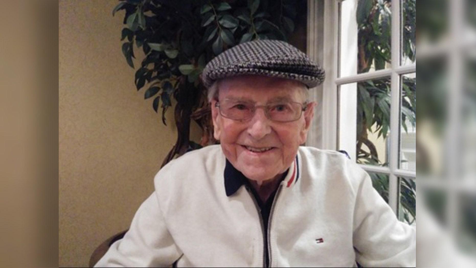 World War II Purple Heart recipient Edward Murphy marked his 100th birthday Saturday in Georgia.