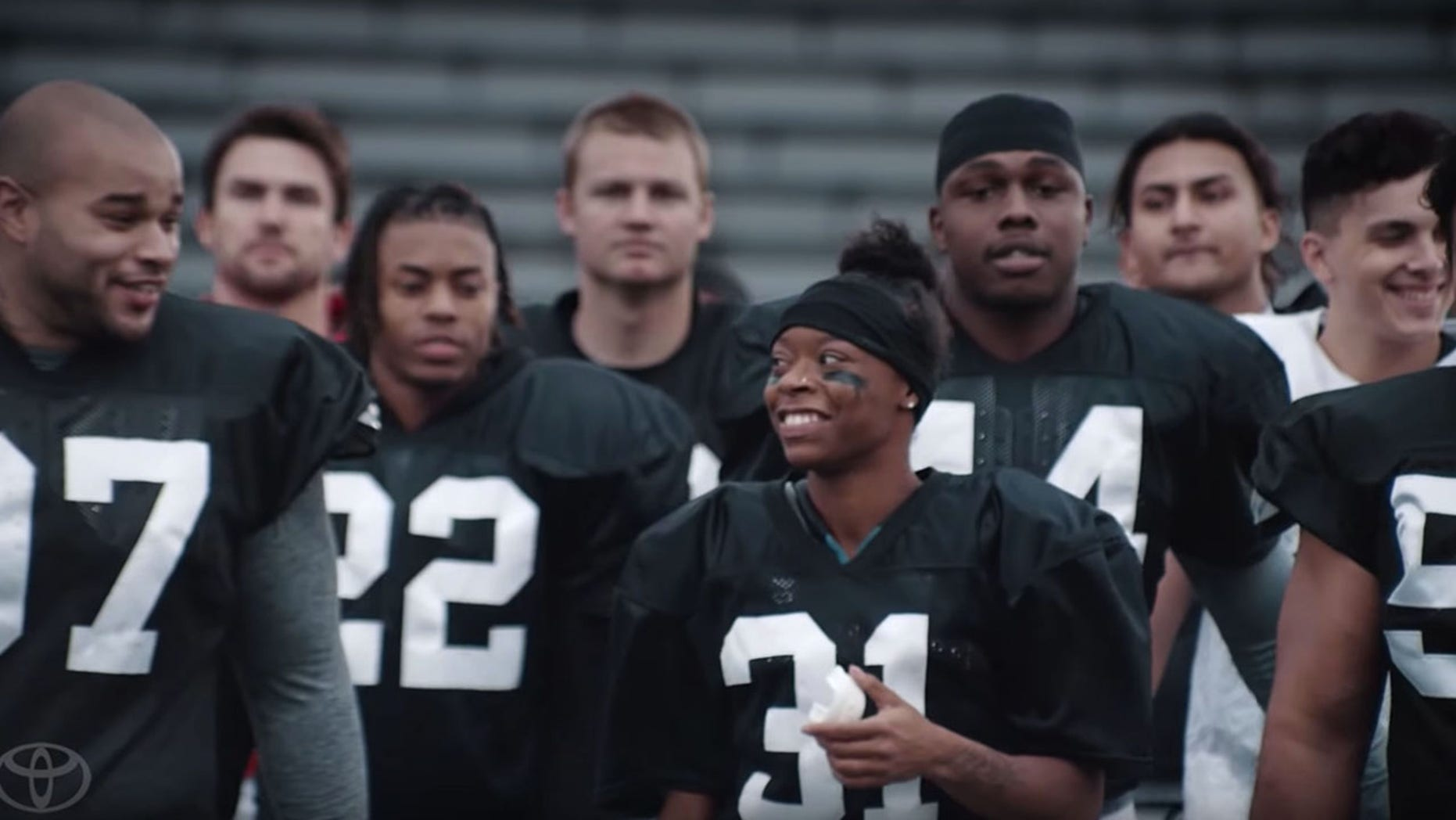Female football player makes history with first full ...