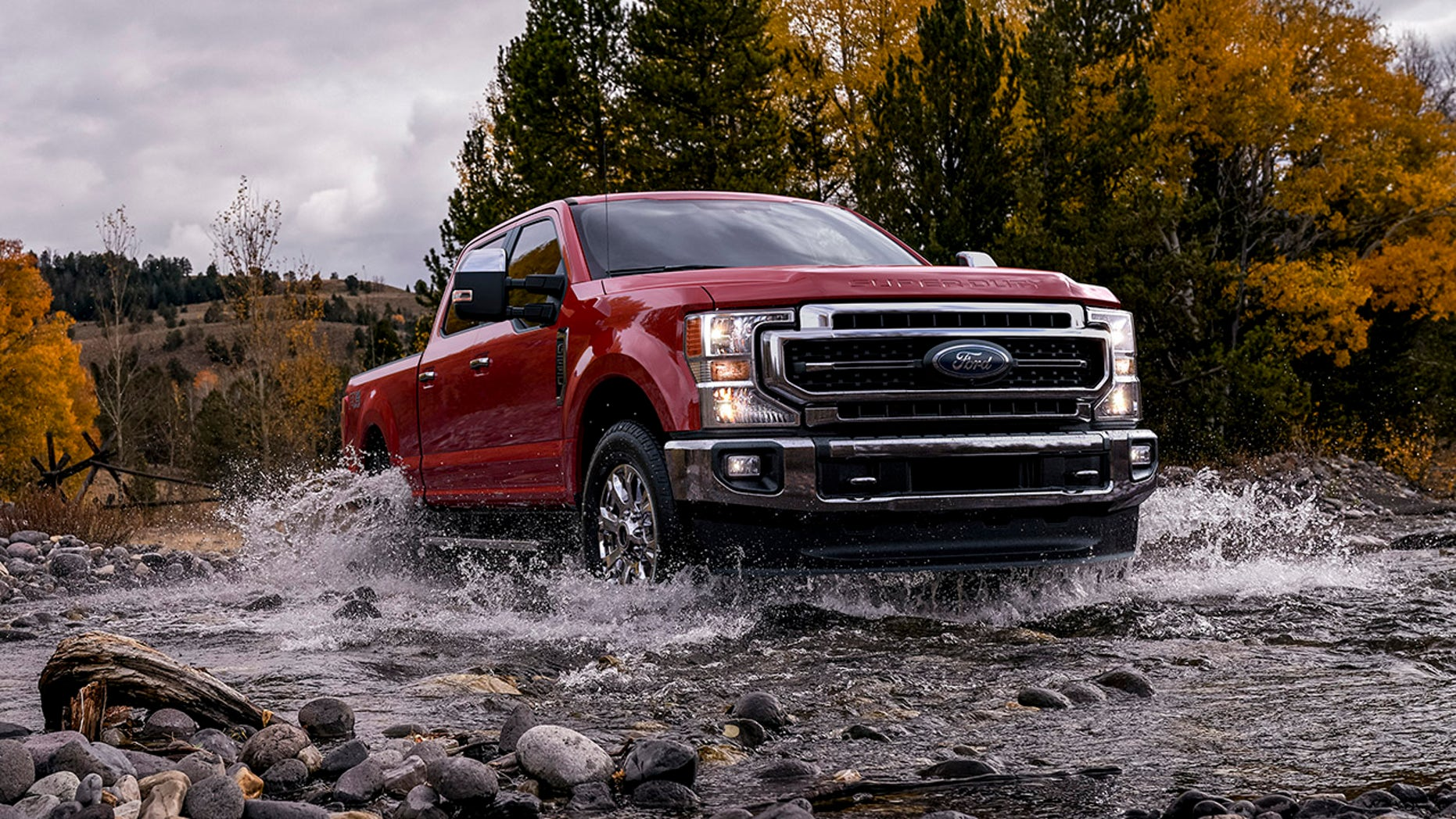 The Ford F-Series Super Duty will be offered in a full complement of F-250 (shown), F-350 and F-450 configurations.