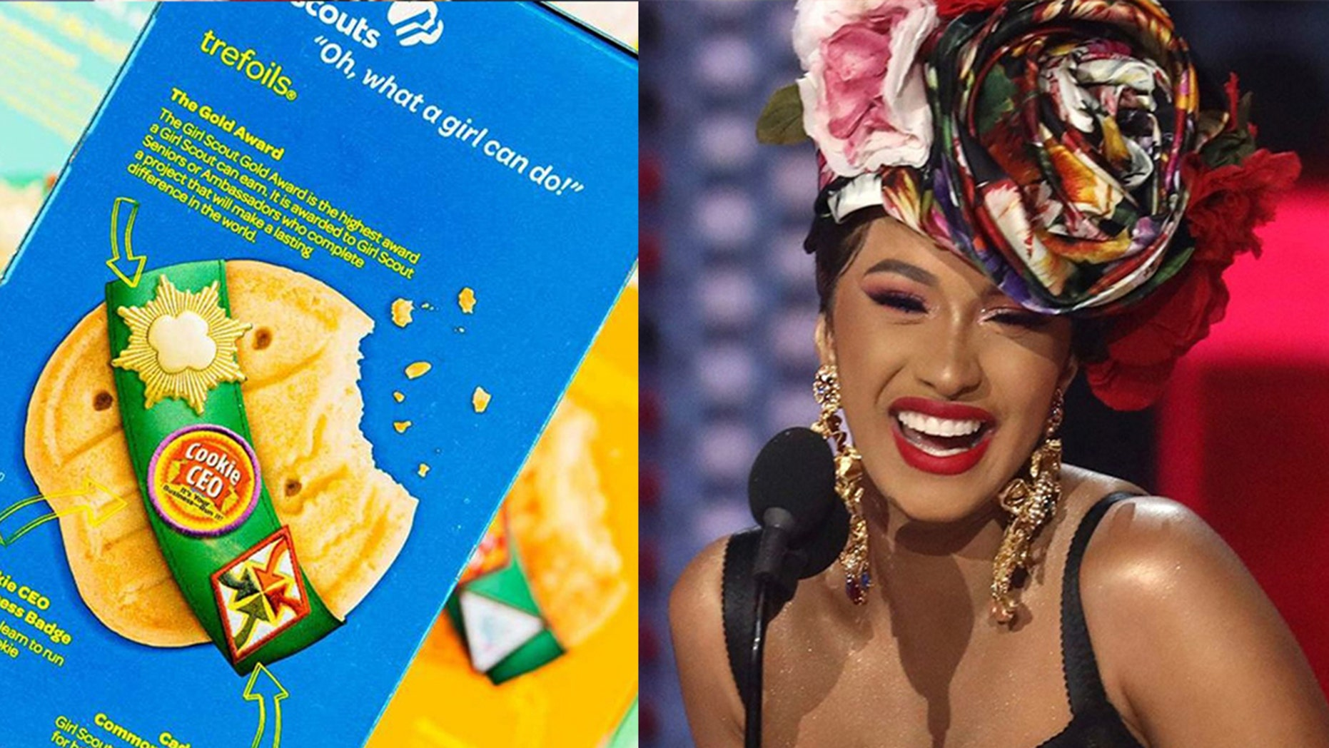 California Woman Scout's Cookie-themed Cardi B Remix Goes