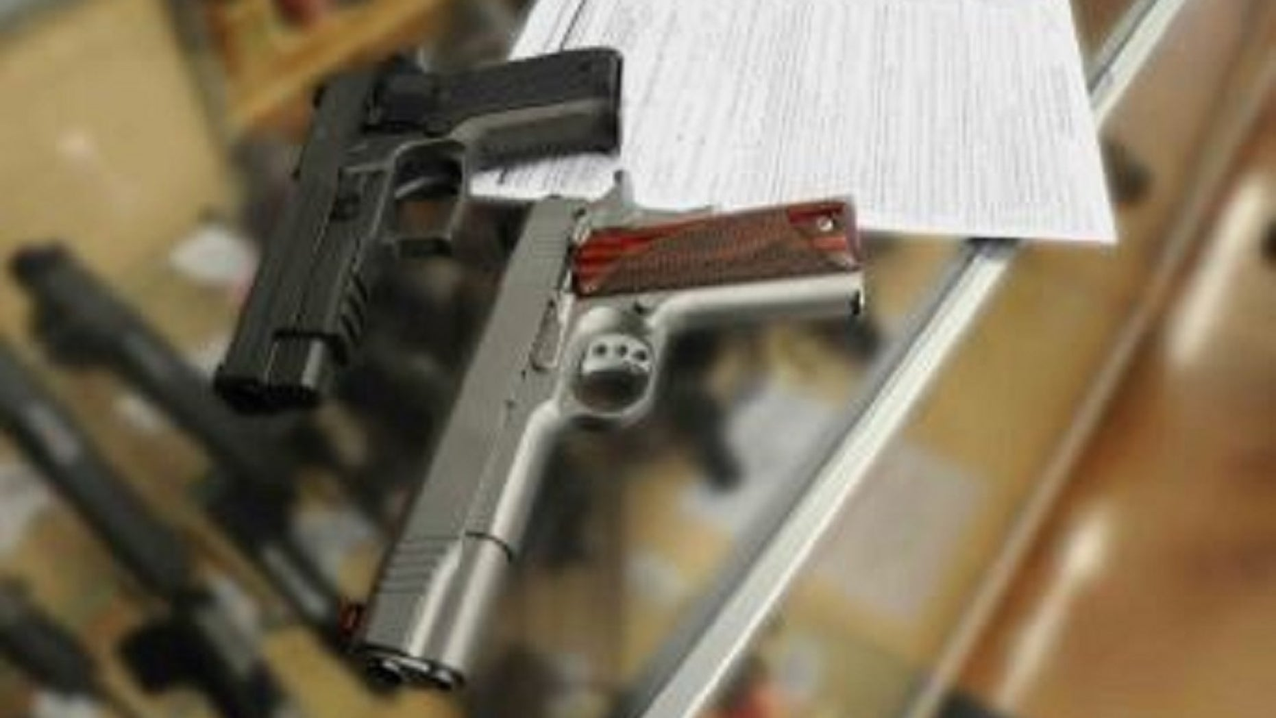 A German court ruled a man isn't fit to carry a firearms license after his dog shot him with a rifle.