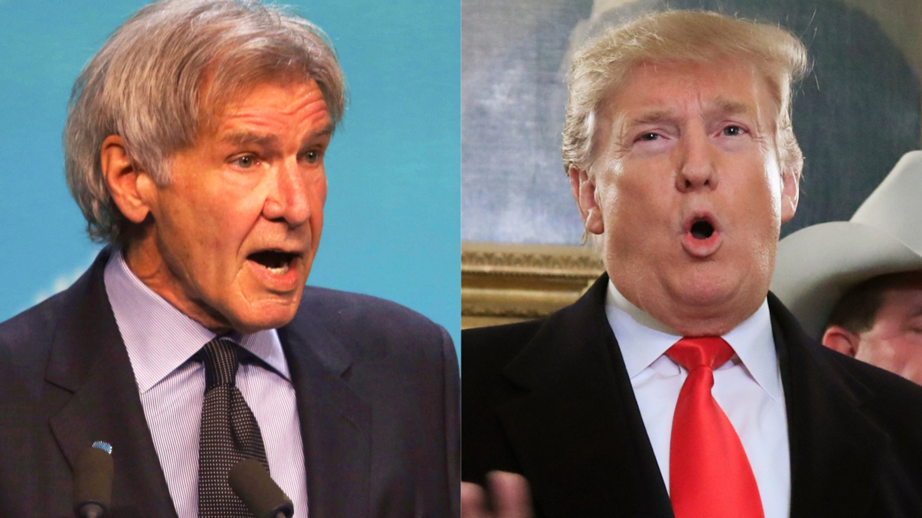 Harrison Ford Slams Donald Trump Others Who Denigrate
