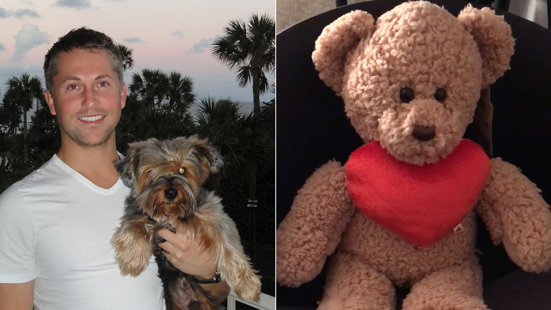 Sandor Szabo's heart saved a father of two last year, who recorded his new heart beating and put it inside a special bear for the man's grieving mother.