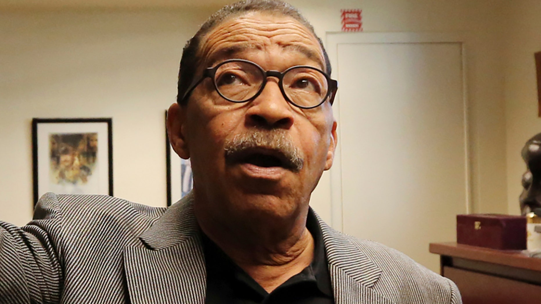 President of the Los Angeles City Council Herb Wesson describes how members of his staff heard noises in the city hall.